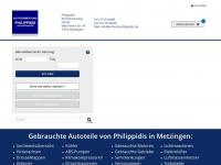 philippidis.de Webseite Vorschau
