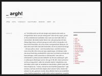 argh.de Webseite Vorschau