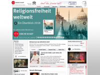 kirche-in-not.de Webseite Vorschau