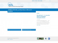 kvg-gmbh.de Webseite Vorschau