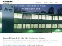 lochner-elektronik.de Webseite Vorschau