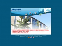 kingbright-europe.de Webseite Vorschau