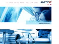 ampexit.com Webseite Vorschau