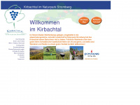 kirbachtal.de Webseite Vorschau
