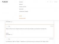 allplan.com Webseite Vorschau