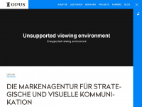 opus-marketing.de Webseite Vorschau