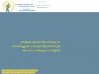 physiotherapie-kreutzer.de Webseite Vorschau