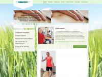 physiotherapie-pflueger.de Webseite Vorschau