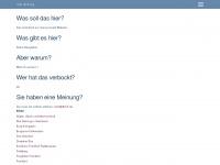 dbcf.de Webseite Vorschau