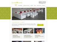 lounge4event.de Webseite Vorschau