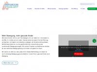 kinderturnstiftung-bw.de Webseite Vorschau