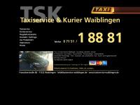 taxiservice-waiblingen.de