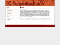 tcfahrenbach.de Webseite Vorschau