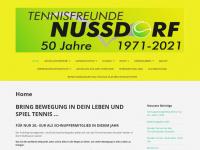 tennisfreunde-nussdorf.de