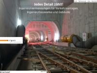 trigeo.de Webseite Vorschau