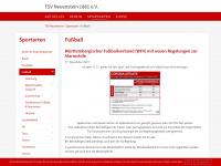 fussball.tsvneuenstein.de