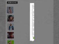 amadis.net Webseite Vorschau