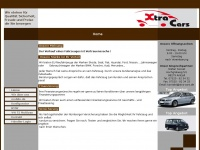 xtra-cars.de Webseite Vorschau