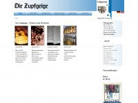 zupfgeige-gitarren.de Webseite Vorschau
