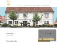 zur-linde-steinhausen.de Webseite Vorschau