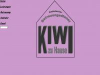 kiwizuhause.de Webseite Vorschau