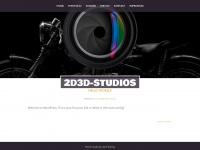 2d3d-studios.de Webseite Vorschau