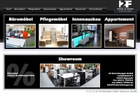 2f-einrichtungen.de Webseite Vorschau