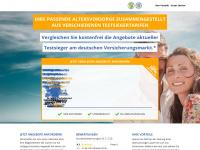 altersvorsorge-testsieger.de Webseite Vorschau