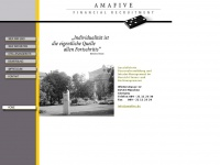 amafive.de Webseite Vorschau