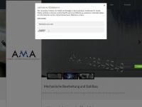 ama-zerspanungstechnik.de Webseite Vorschau