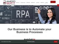 amdosoft.com Webseite Vorschau
