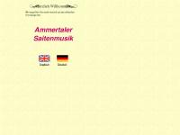 ammertaler-saitenmusik.de Webseite Vorschau