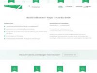 amper-trockenbau.de Webseite Vorschau