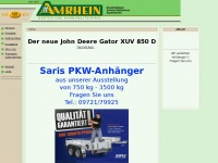 amrhein.de Webseite Vorschau
