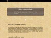 4-elementenlehre.com Webseite Vorschau