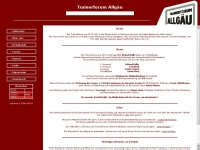trainerforum-allgaeu.de