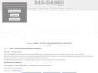 543-dabei.de Webseite Vorschau