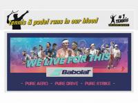1a-racket.de Webseite Vorschau