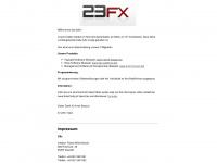 23fx.de Webseite Vorschau