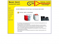 Bauer-gerd-haustechnik.de