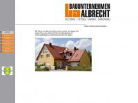 bauunternehmen-albrecht.com