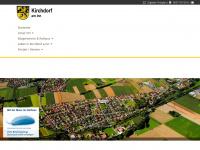 kirchdorfaminn.de Webseite Vorschau