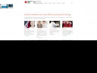kvfreising.brk.de Webseite Vorschau