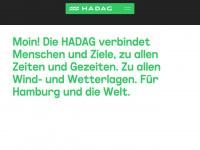 hadag.de Webseite Vorschau