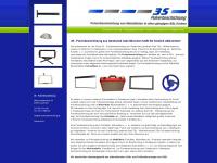3s-pulverbeschichtung.de Webseite Vorschau