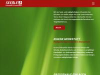 fussgesund.info Webseite Vorschau