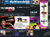 kissfm.de Webseite Vorschau