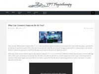 vpt-physio.com Webseite Vorschau