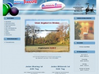 physio-lohengrintherme.de Webseite Vorschau