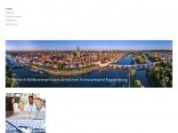 aekv-regensburg.de Webseite Vorschau